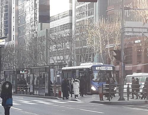 韓国市バス