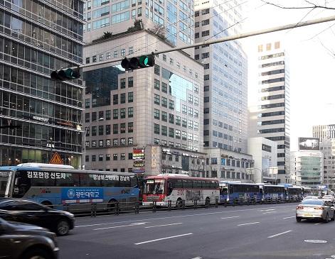 韓国の市バス