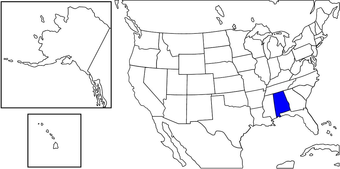 アラバマ州