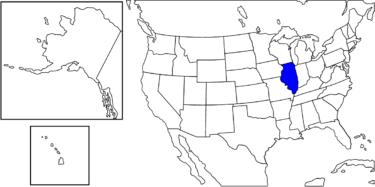 【アメリカ州制度】アメリカの縮図とされる州「イリノイ州」解説