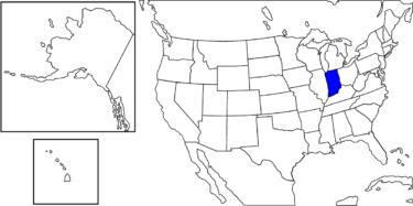 【アメリカ州制度】アメリカ中西部を代表する州「インディアナ州」解説
