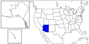 【アメリカ州制度】観光地として有名な州「アリゾナ州」解説