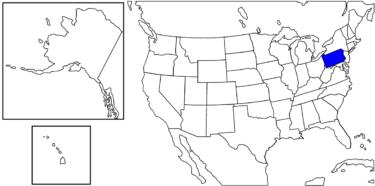 【アメリカ州制度】アメリカ建国の中心地だった「ペンシルベシア州」解説