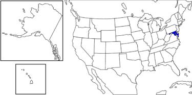 【アメリカ州制度】建国時の政治の中心だった州「メリーランド州」解説