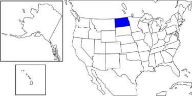 【アメリカ州制度】ありのままの自然が多く残る「ノースダコタ州」解説