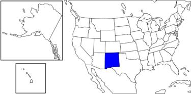 【アメリカ州制度】エキゾチックな町並みのある州「ニューメキシコ州」解説