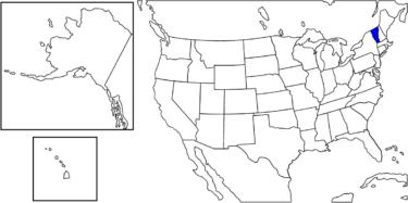 【アメリカ州制度】アメリカ初の成文憲法を作った州「バーモント州」解説
