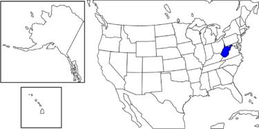 【アメリカ州制度】バージニア州から独立した「ウェストバージニア州」解説