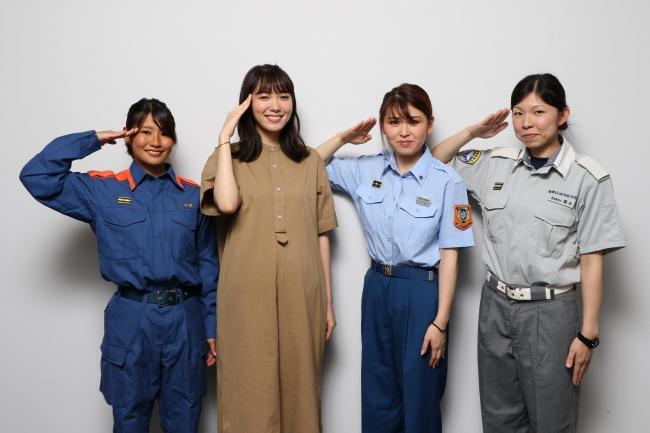 現役女性消防士も登壇したイベント