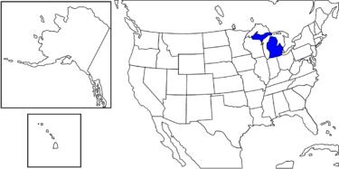 【アメリカ州制度】自動車産業や軍事産業で栄えた州「ミシガン州」解説