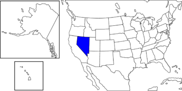 【アメリカ州制度】アメリカらしい自由な風潮が強い州「ネバタ州」解説