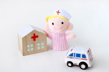小児科で働く看護師